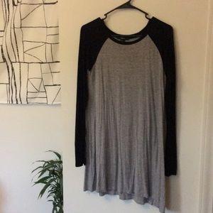 Long sleeve TShirt dress